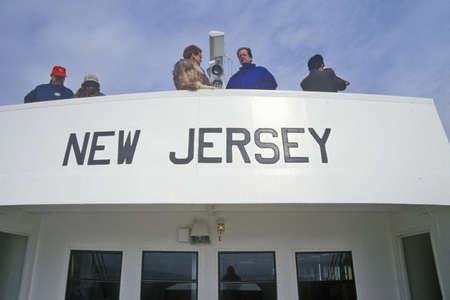 cultural artifacts: Welcome to New Jersey Sign