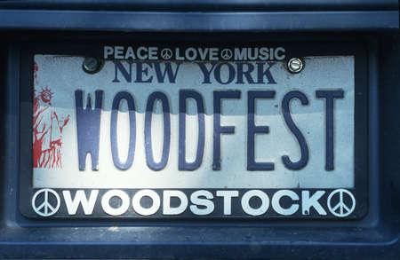 Vanity License Plate - New York