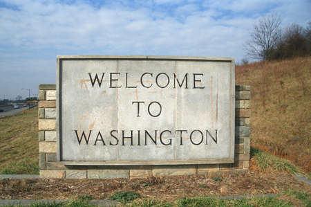 Welcome to Washington State Sign