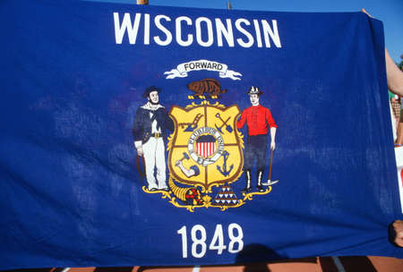 state wisconsin: State Flag of Wisconsin