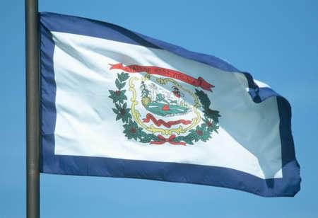 west virginia: State Flag of West Virginia Editorial