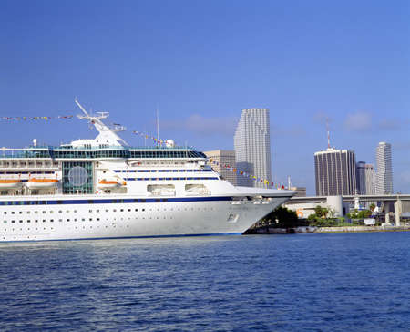 Cruise Ship, Port of Miami, Florida