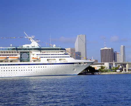 Cruise Ship, Port of Miami, Florida