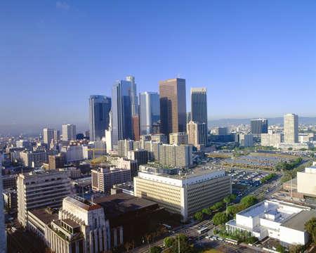 'city hall': Los Angeles Skyline from City Hall, California
