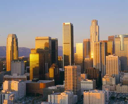 angeles: Los Angeles Skyline a Dusk, California