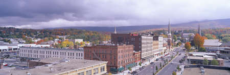 adams: Main Street USA, North Adams, Massachusetts Editorial