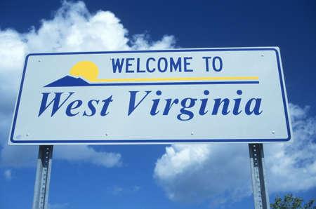 Welcome to West Virginia Sign Redakční