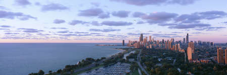 Chicago, Diversey Harbor Lincoln Park, Lake Michigan, Illinois
