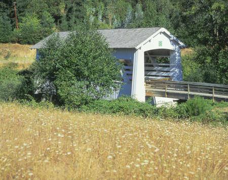 Sandy Creek Covered Bridge, Southern Oregon
