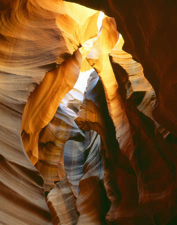 slot canyon: Antelope Slot Canyon, Page, Arizona Editorial