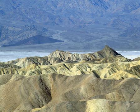Death Valley National Monument, Zabriskie Point, California