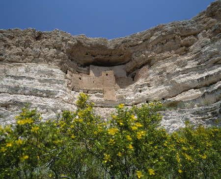 Castillo de Montezuma, Arizona Foto de archivo - 20491581