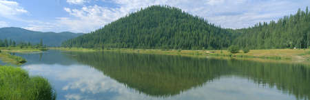 sawtooth national forest: Pyramid of Pines, Smith Ferry, Idaho