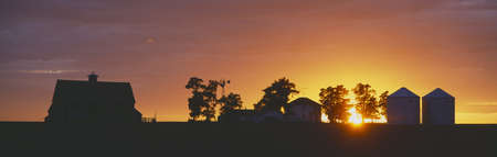 Farm at Sunset, South Ritzville, Route 261, S.E. Washington