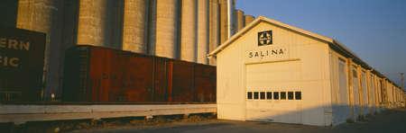 salina: Grain Silo Railroad Station, Salina, Kansas