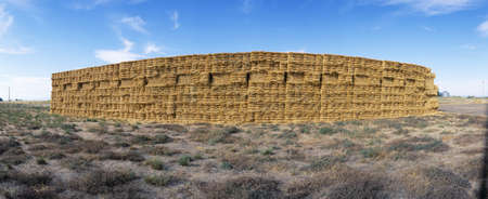 Hay Stacks, Eastern Washington