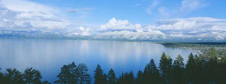 south lake tahoe: South Lake Tahoe in winter, California