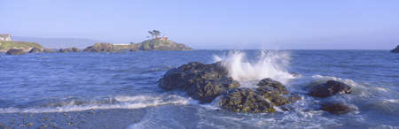 Lighthouse off Front Street, Crescent City, California
