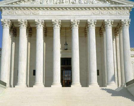 dc: Fronte della Corte Suprema degli Stati Uniti, Washington DC