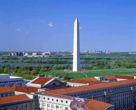 Washington Monument viewed from Old Post Office Bell Tower, Washington DC