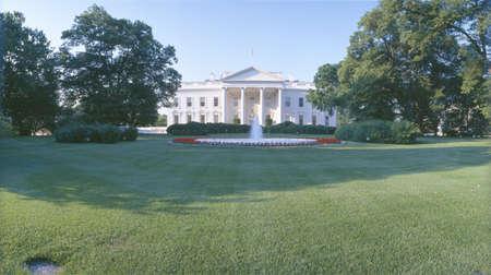 Front lawn of The White House, Washington DC Stock Photo - 20526652