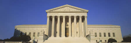 judiciary: View of entire US Supreme Court Building, Washington DC Editorial