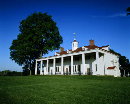 La casa de George Washington en Mount Vernon, Virginia