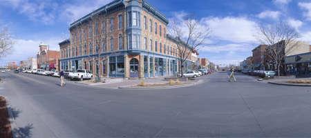 Walnut & Linden Streets, Fort Collins (inspired Disneylands Main St. USA), New York