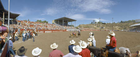 stadia: 75th Ellensburg Rodeo, Labor Day, Ellensburg, Washington
