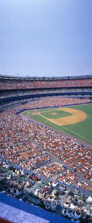 stadia: Shea Stadium, NY Mets v. SF Giants, New York Editorial