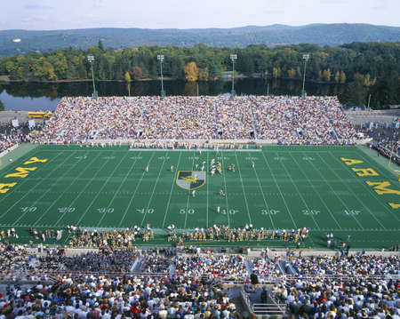 stadia: Michael Stadium at West Point, Army v. Lafayette, New York Editorial
