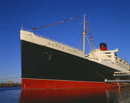 Queen Mary, Long Beach Harbor, California
