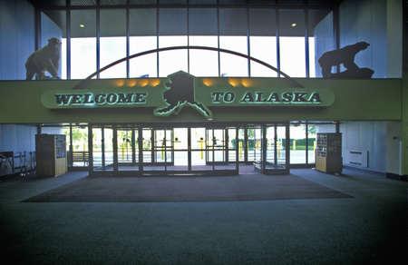 �Welcome to Alaska�, Anchorage, Alaska