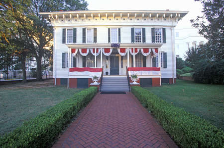 montgomery: �First White House� for Confederates in Montgomery, Alabama