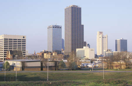 ar: State capital and skyline in Little Rock, Arkansas