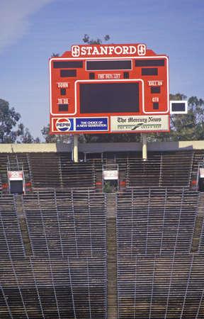 stadia: Stanford University Stadium in Palo Alto, California Editorial