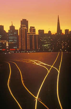 efectos especiales: Efectos especiales: Future City of San Francisco, San Francisco, California