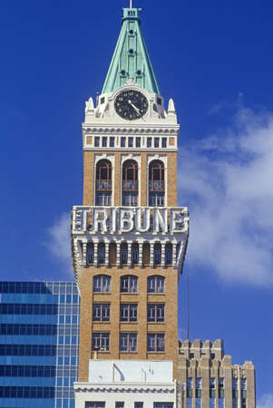 Tribune building in Oakland, California