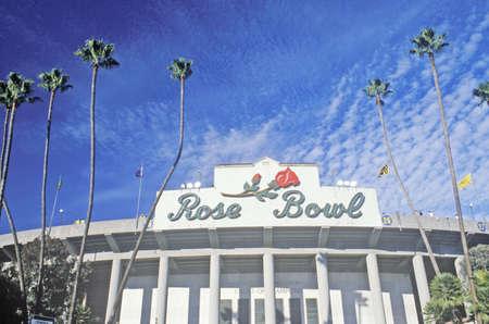 southern california: Front entrance to the Rose Bowl in Pasadena, Pasadena, California