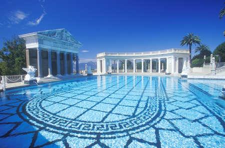 Neptune Pool at Hearst Castle, San Simeon, Central Coast, California