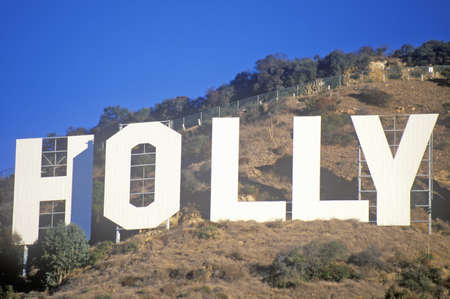 west hollywood: �Hollywood� sign on the hillsides of Hollywood, Los Angeles, California