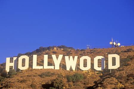 hollywood hills: �Hollywood� sign on the hillsides of Hollywood, Los Angeles, California