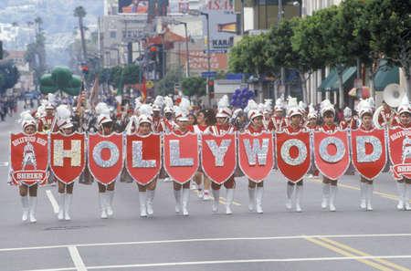 St. Patrick's Day Parade on Hollywood Blvd., Los Angeles, California Sajtókép