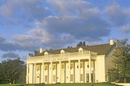 Forest Lawn Mortuary in Los Angeles, California Editorial