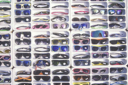 decisionmaking: Sunglasses for sale, Los Angeles, California Editorial
