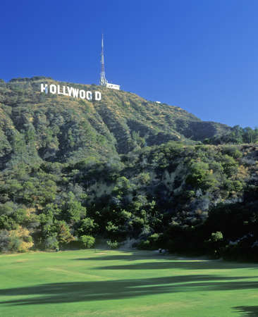 hollywood hills: Hollywood segno sulla Hollywood Hills, Los Angeles, California
