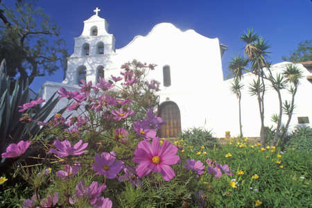 san: Mission Basilica San Diego De Alcala, San Diego, California