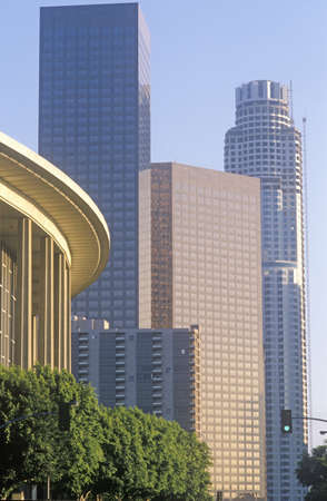 chandler: Dorothy Chandler Pavilion in the city of Los Angeles, California Editorial