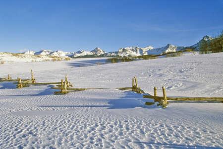 uncompahgre national forest: Mount Sneffels, Dallas Divide, San Juan Mountains, Colorado Editorial