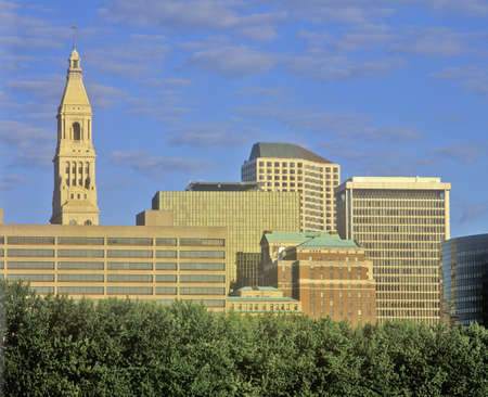 State capital of Hartford skyline, Hartford, Connecticut